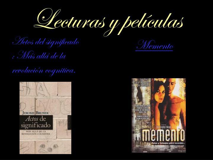 Lecturas y películas