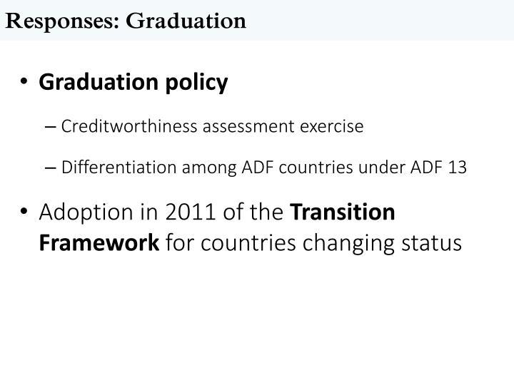 Responses: Graduation