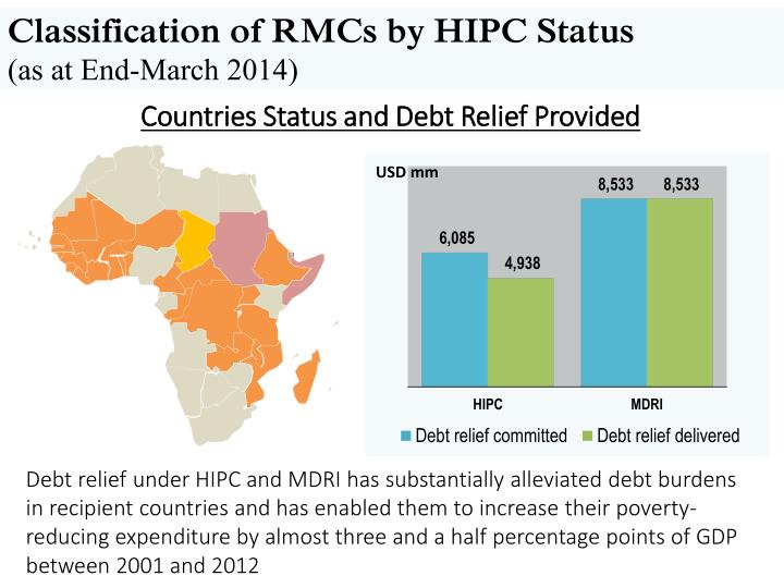 Classification of RMCs by HIPC Status