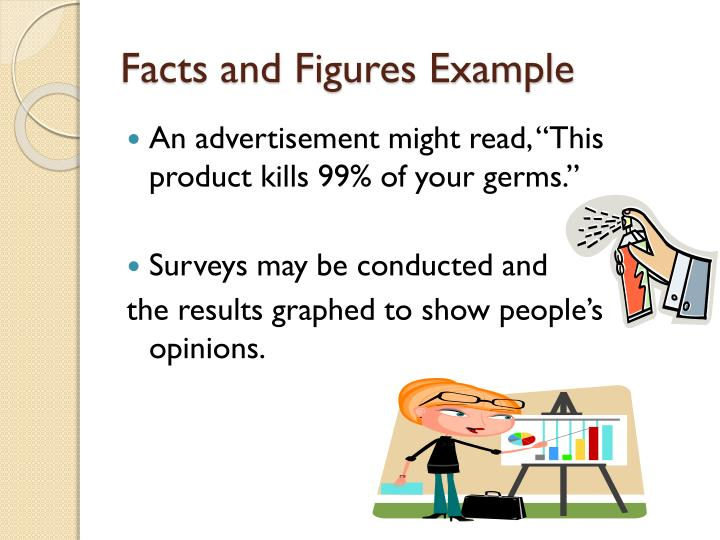 Facts and Figures Example