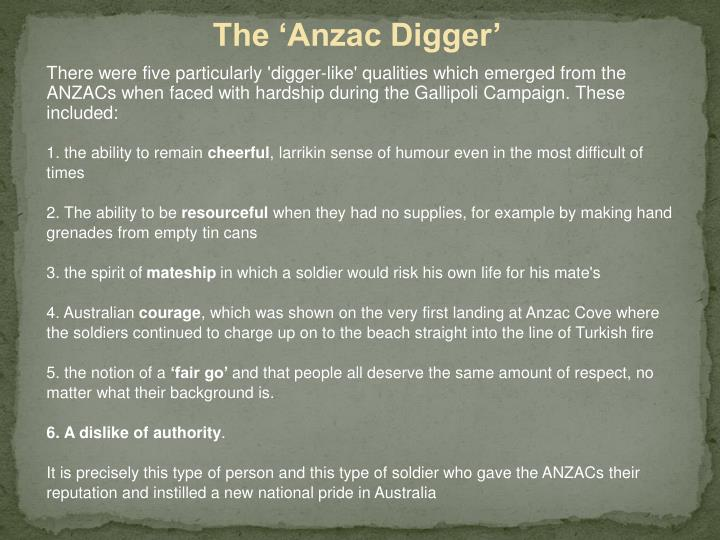 The 'Anzac Digger'