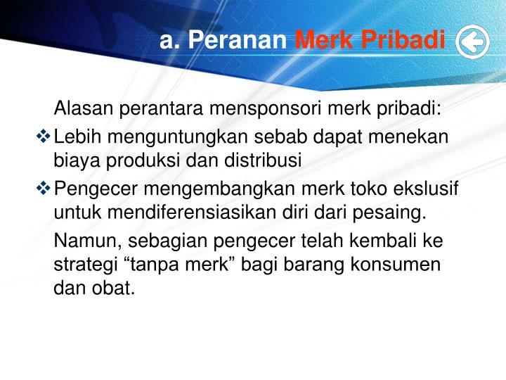 a. Peranan