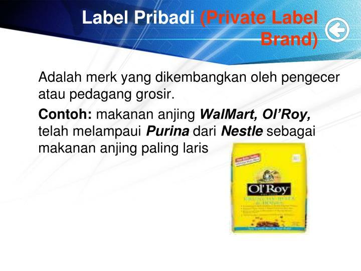 Label Pribadi