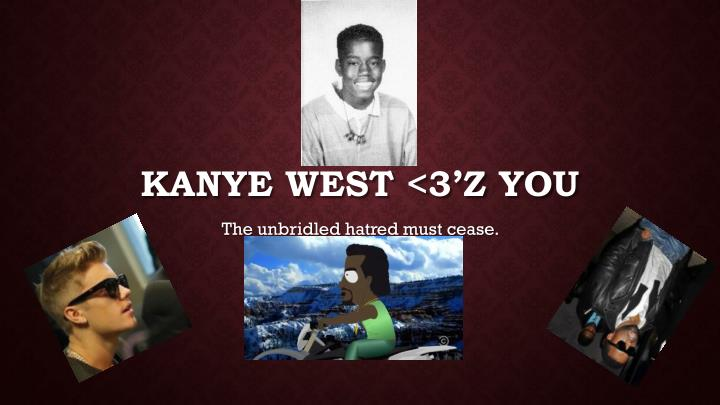 Kanye west 3 z you