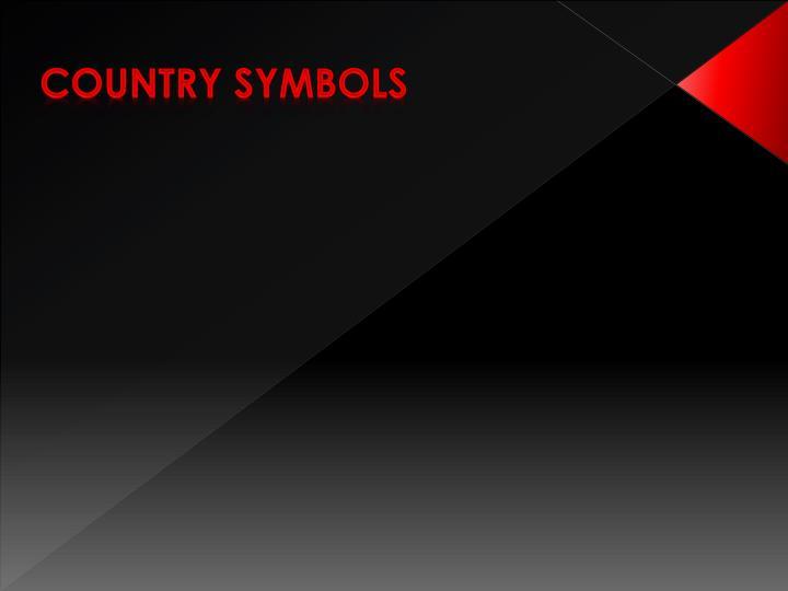 Country symbols