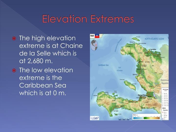 Elevation Extremes