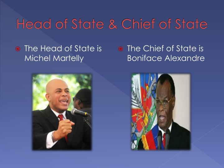 Head of State &