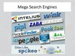 mega search engines