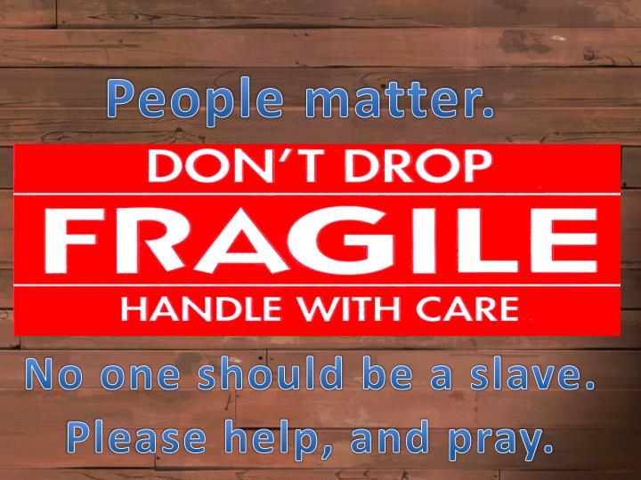 People matter.