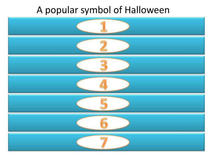 A popular symbol of Halloween