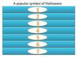 a popular symbol of halloween