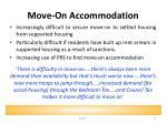 move on accommodation