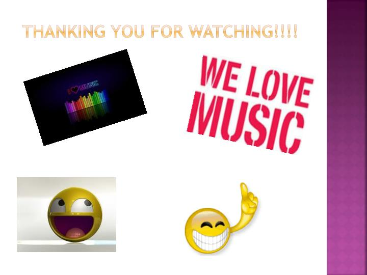 Thanking you for watching!!!!