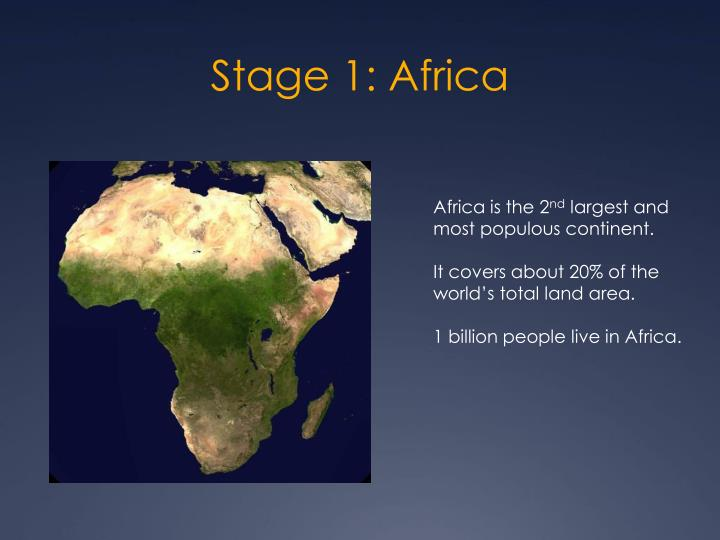 Stage 1 africa