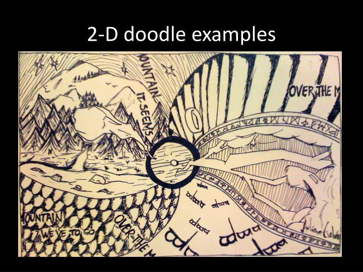 2 d doodle examples