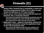 firewalls ii