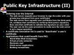 public key infrastructure ii