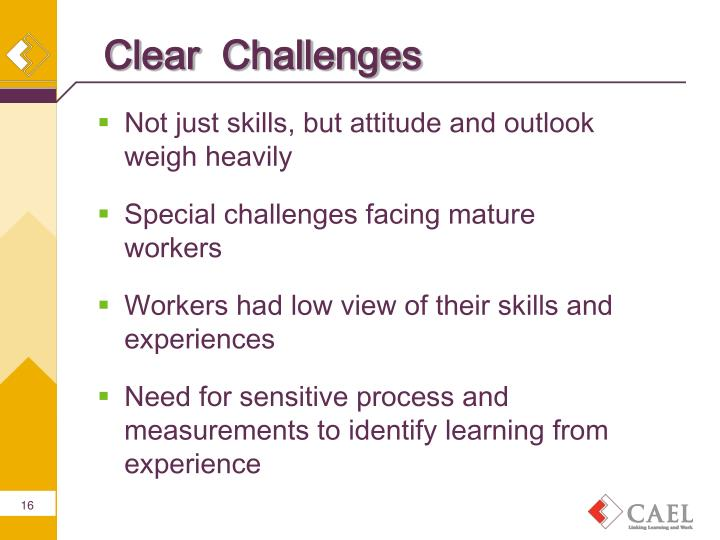 Clear  Challenges