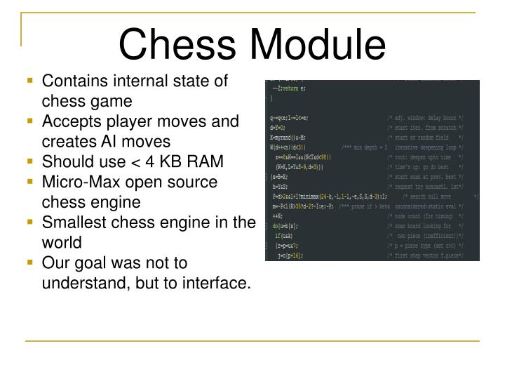 Chess Module