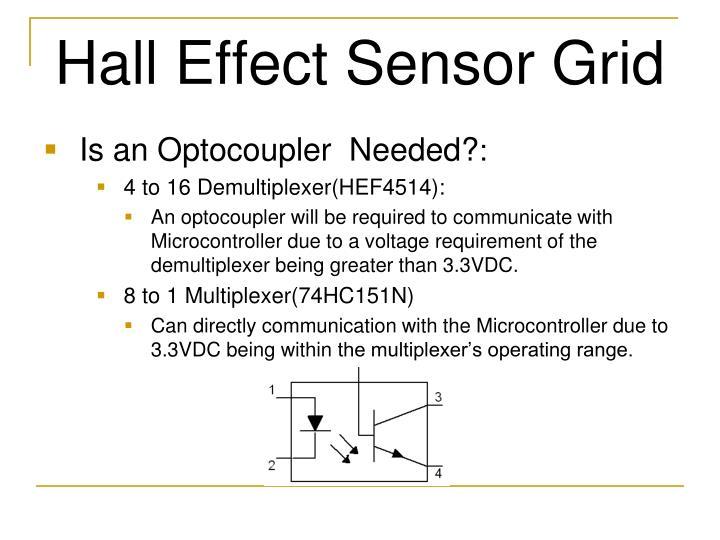 Hall Effect Sensor Grid