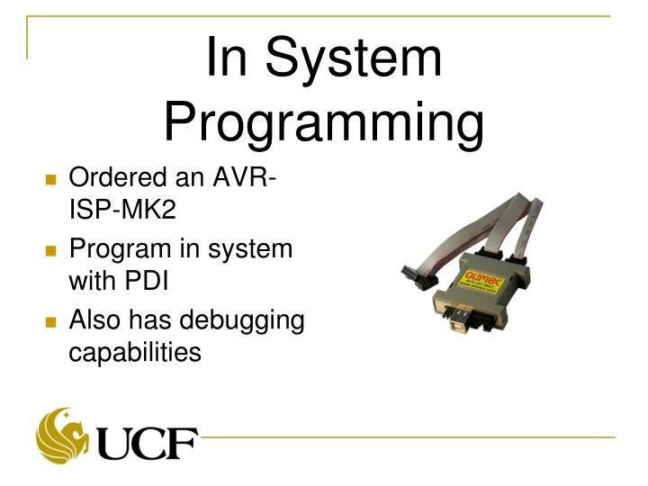 In System Programming