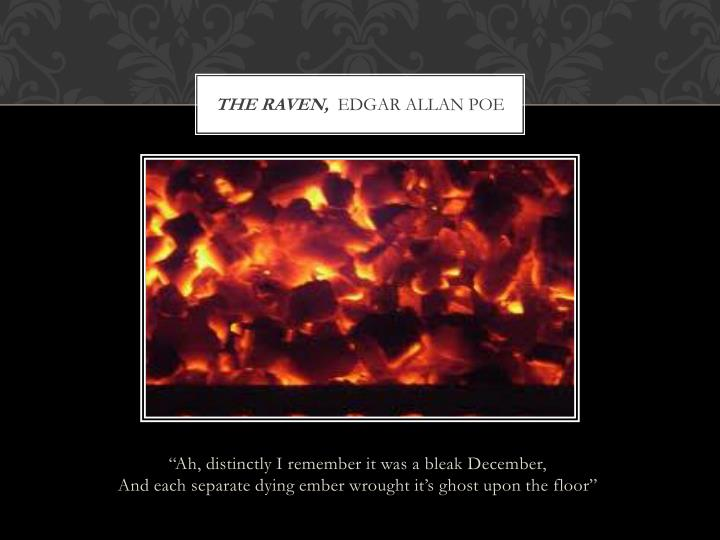 the raven,
