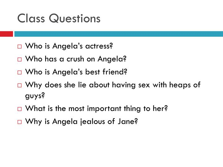 Class Questions