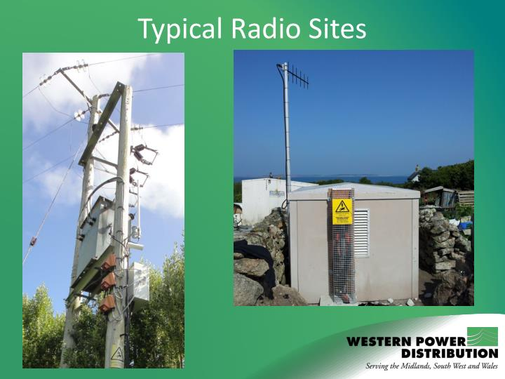 Typical Radio Sites