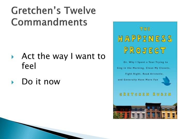 Gretchen s twelve commandments1