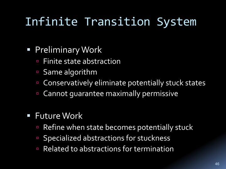 Infinite Transition System