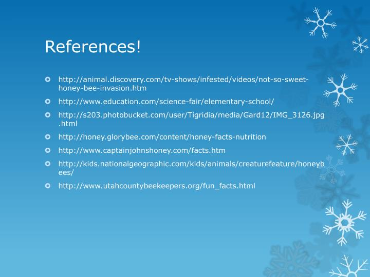 References!