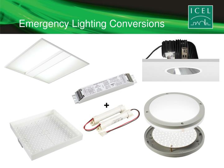 Emergency Lighting Conversions