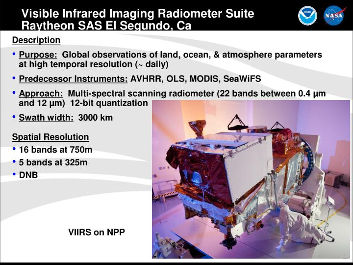 Visible Infrared Imaging Radiometer Suite