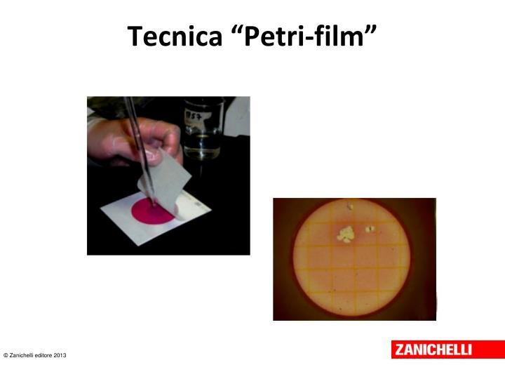 "Tecnica ""Petri-film"""