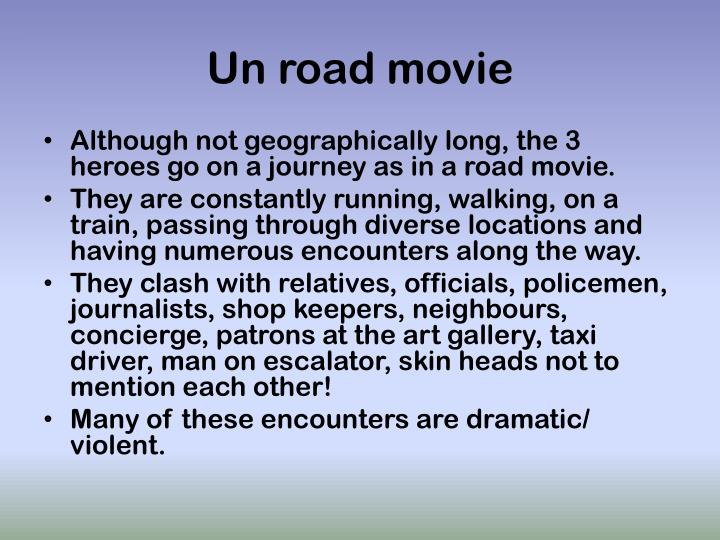 Un road movie