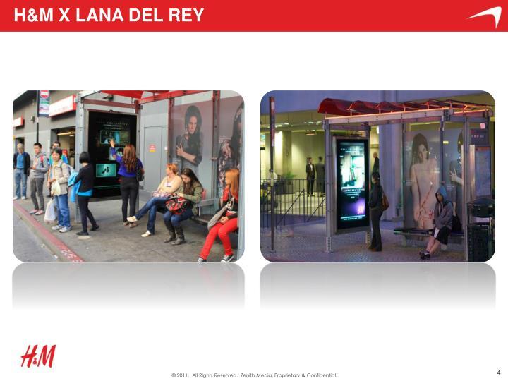 H&M x Lana Del Rey