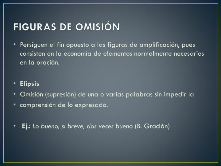 FIGURAS DE OMISIÓN