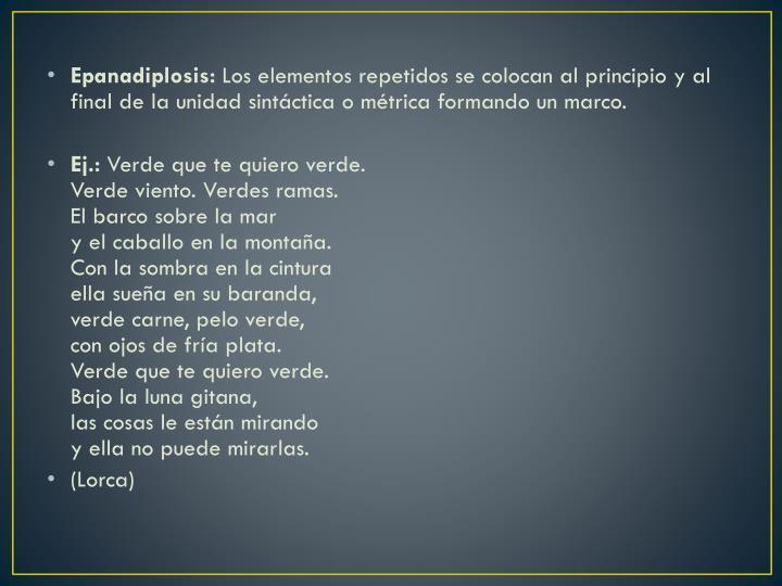 Epanadiplosis: