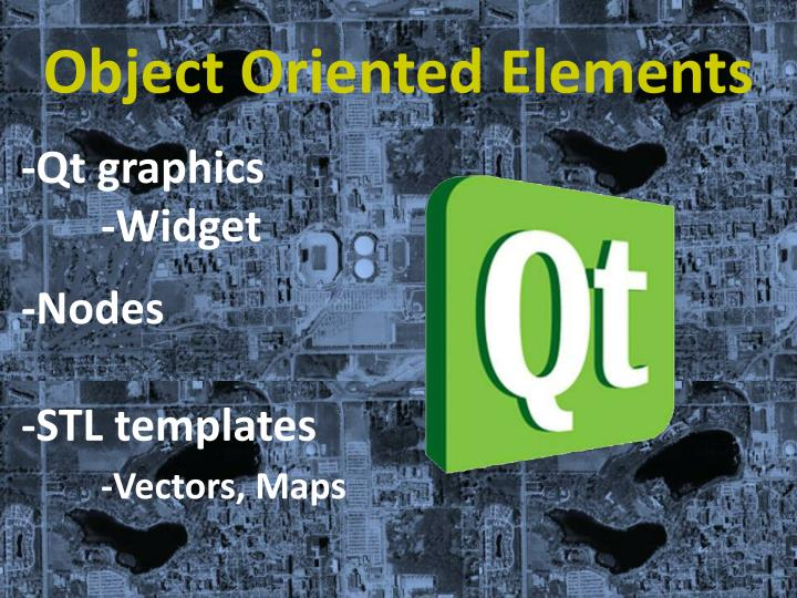 Object Oriented Elements