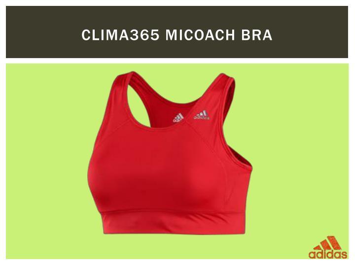 Clima365 miCoach Bra
