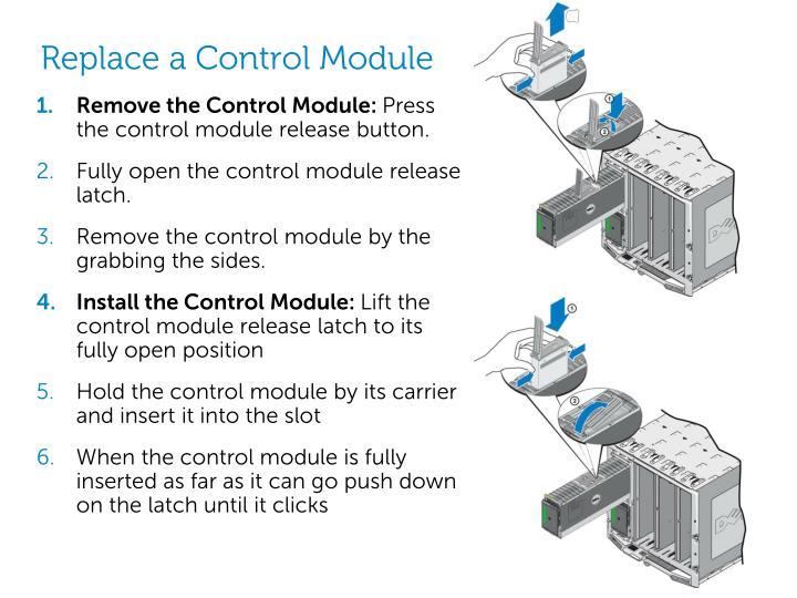 Replace a Control Module
