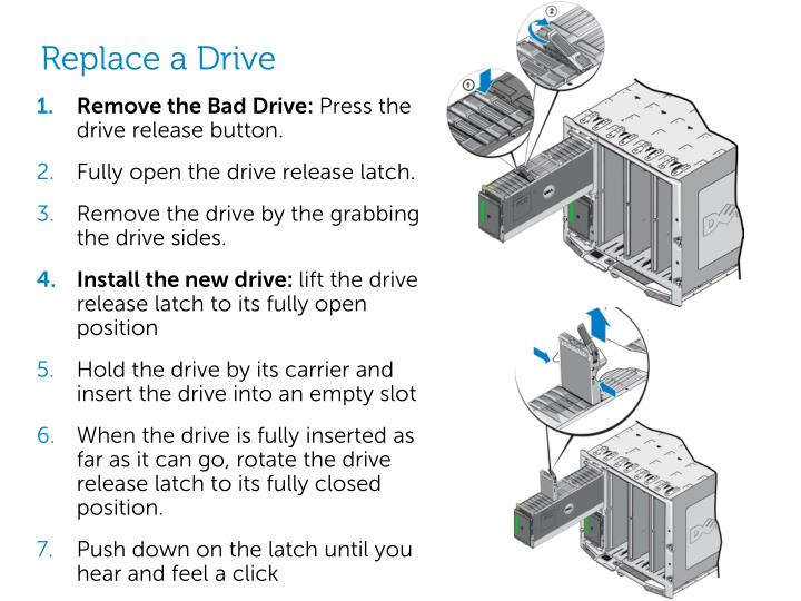 Replace a Drive