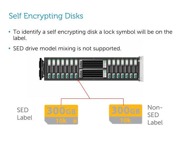 Self Encrypting Disks