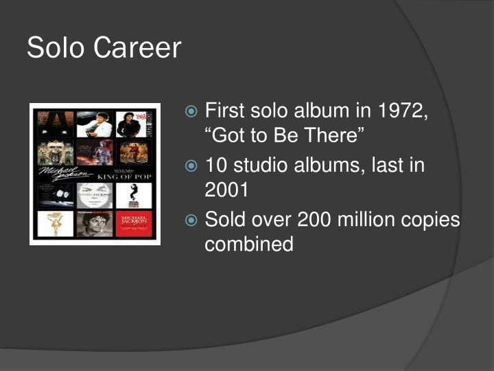 Solo Career