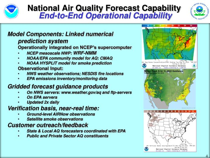 National Air Quality Forecast Capability
