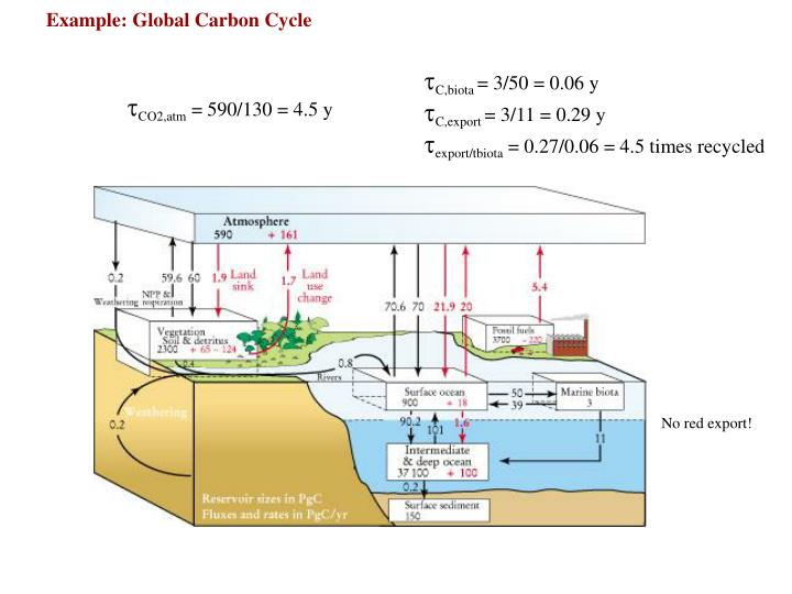 Example: Global Carbon Cycle