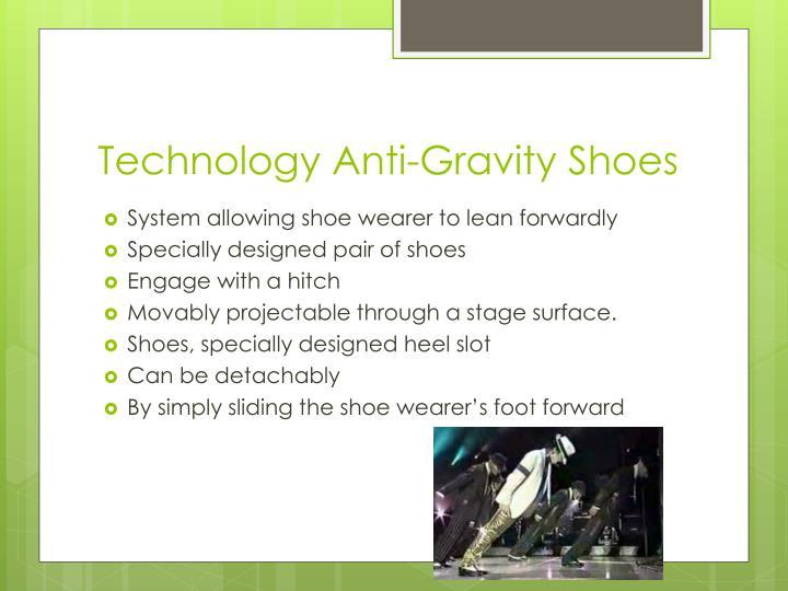 Technology Anti-Gravity Shoes