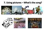 7 using pictures what s the song