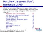 most new jerseyans don t recognize usaid