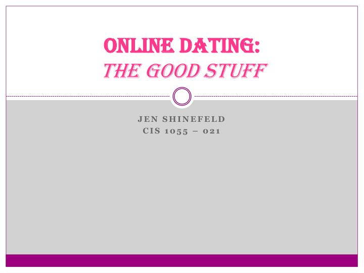 How good is online dating